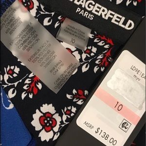 "Karl Lagerfeld Dresses - NWT ""KARL LAGERFELD"" DRESS SIZE 10"